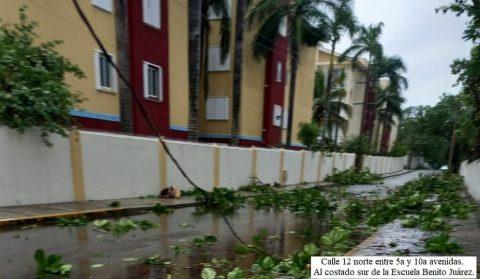 Hurricane History Cozumel