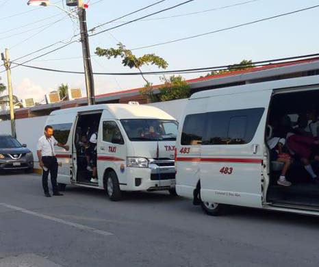 Cozumel Taxis COVID