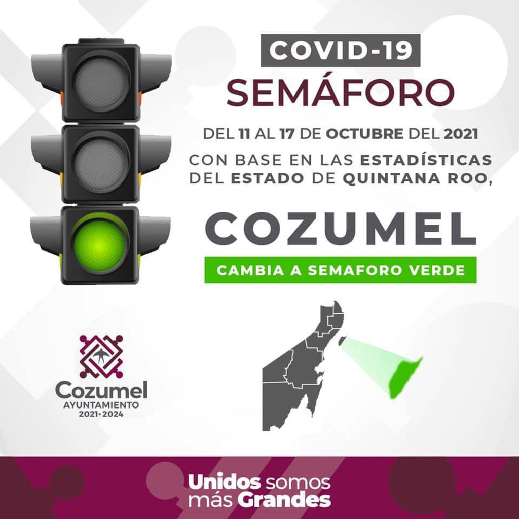 Cozumel Green Level COVID Current Restrictions