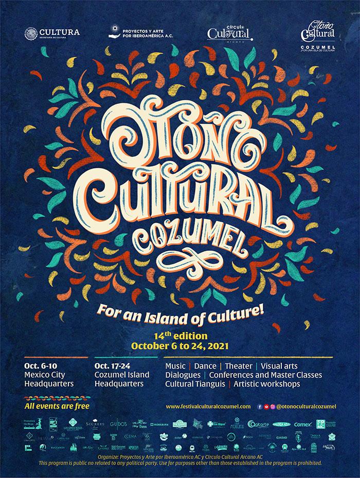 2021 Fall Cultural Week Cozumel: Oct 17 – 24